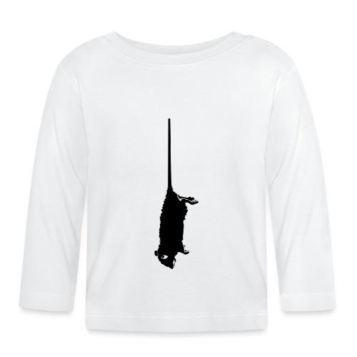 rat mort pendu - T-shirt manches longues Bébé