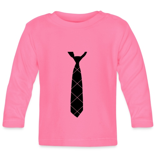 Krawatte - Baby Langarmshirt