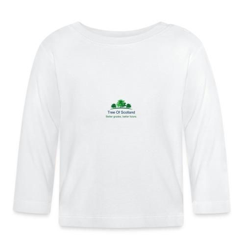 TOS logo shirt - Baby Long Sleeve T-Shirt
