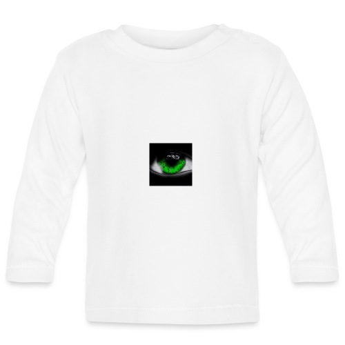 Green eye - Baby Long Sleeve T-Shirt
