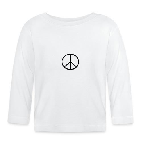 peace - Långärmad T-shirt baby