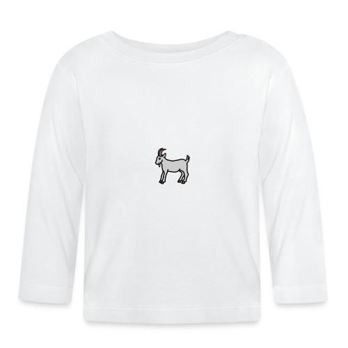Ged T-shirt dame - Langærmet babyshirt