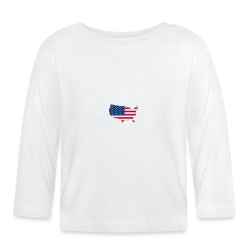 porte clé américain - T-shirt manches longues Bébé