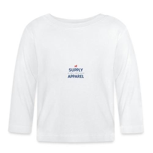 Plain EST logo design - Baby Long Sleeve T-Shirt