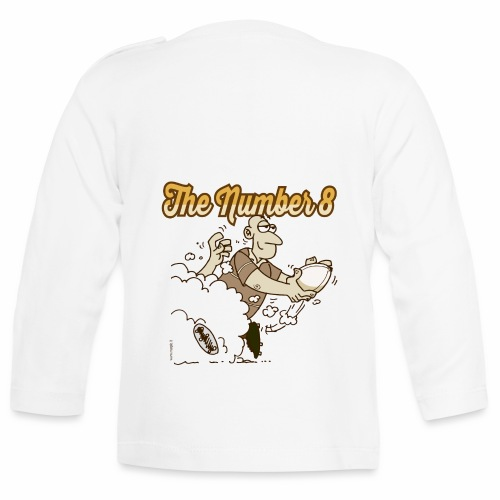 Eight_Marplo_mug - Maglietta a manica lunga per bambini