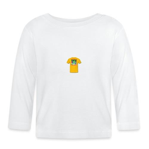 Castle design - Langærmet babyshirt