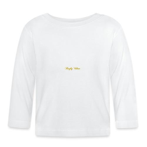 Rugby valeur 🏈 - T-shirt manches longues Bébé