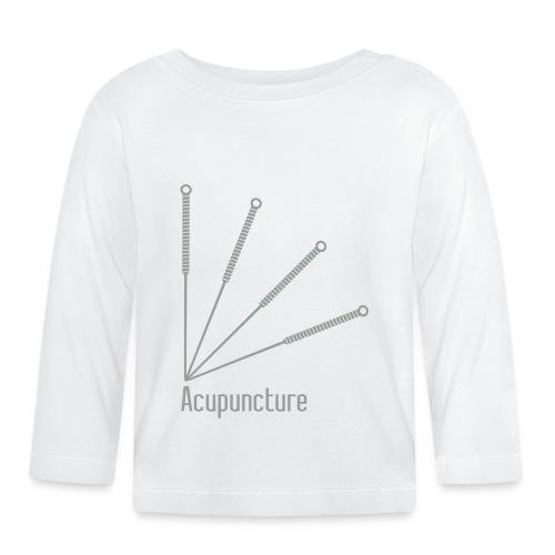 Acupuncture Eventail vect - T-shirt manches longues Bébé