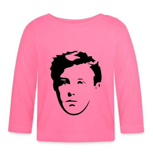 Arthur Rimbaud visage - T-shirt manches longues Bébé
