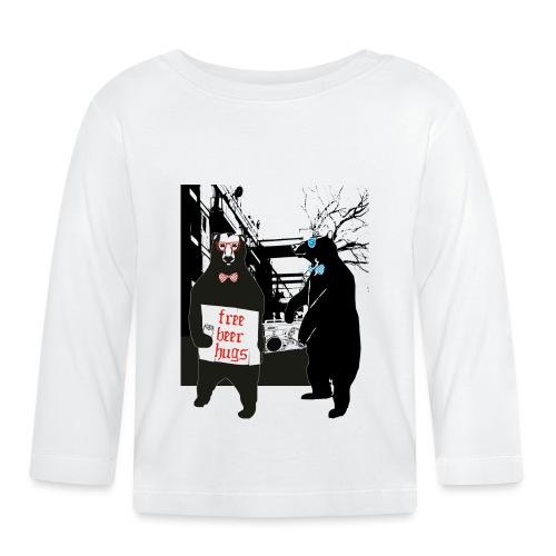 BEER BEARS - Vauvan pitkähihainen paita