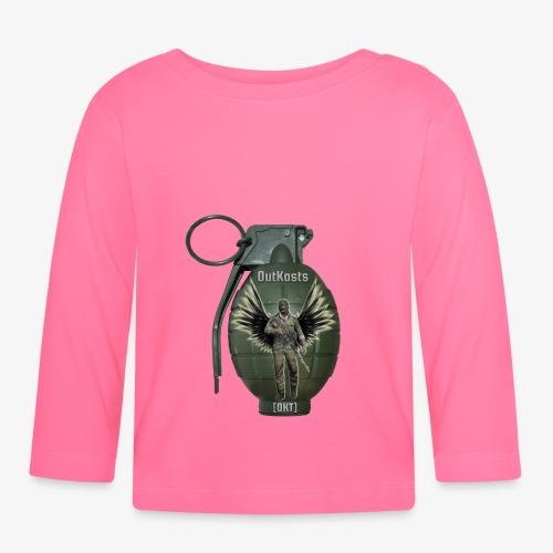 grenadearma3 png - Baby Long Sleeve T-Shirt