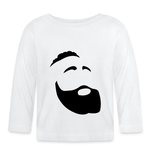Il Barba, the Beard black - Maglietta a manica lunga per bambini