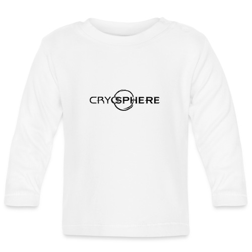 CRYOSPHERE LOGO BLACK - Langærmet babyshirt