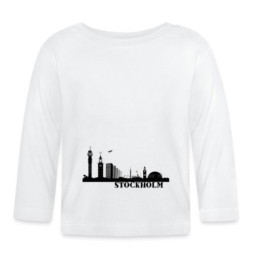 Stockholm - Långärmad T-shirt baby