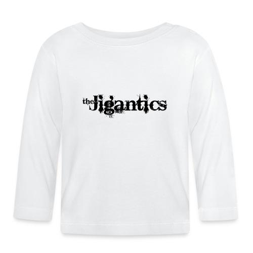 The Jigantics - black logo - Baby Long Sleeve T-Shirt