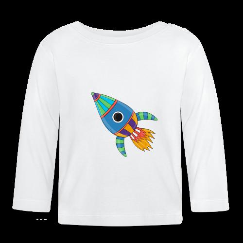 Bunte Rakete - Baby Langarmshirt