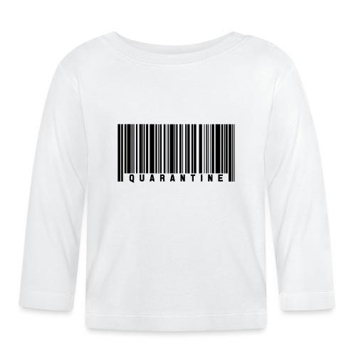 Barcode Quarantine - Camiseta manga larga bebé