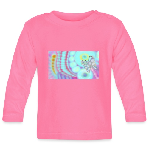 Your-Child Butterfly - Langærmet babyshirt