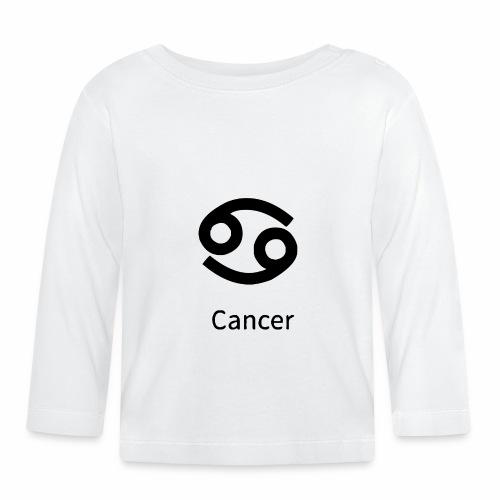 Der Krebs ist ein schönes Sternzeichen - Baby Langarmshirt
