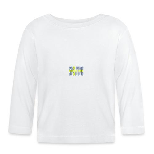svenska - Långärmad T-shirt baby