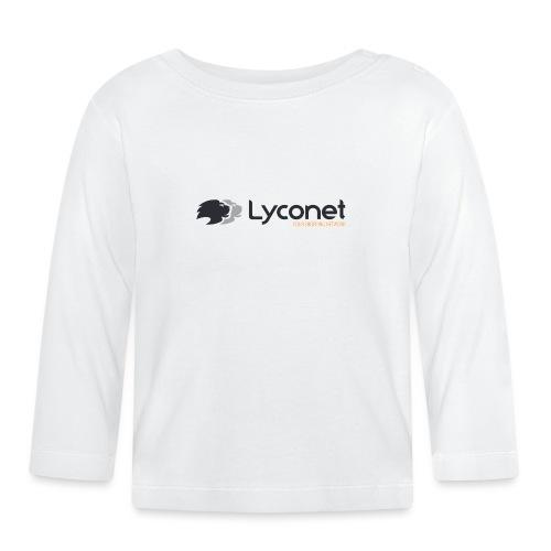 Lyconet White - Maglietta a manica lunga per bambini