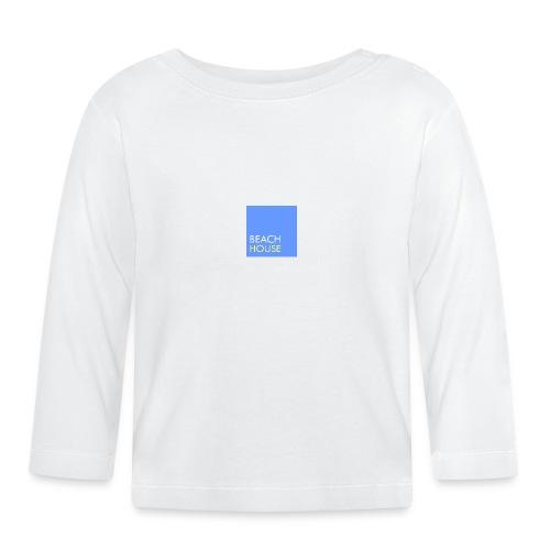 Blue Summer Logo - Baby Long Sleeve T-Shirt