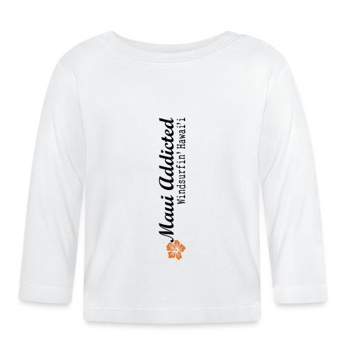 MAddLogoVert ai - Baby Long Sleeve T-Shirt
