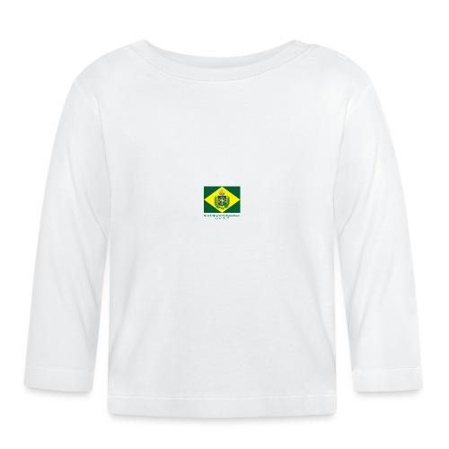 Brazil 200 years independence - Langarmet baby-T-skjorte