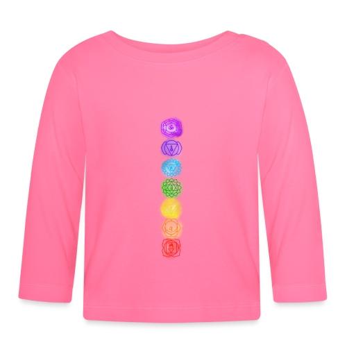 linea chakra - Maglietta a manica lunga per bambini