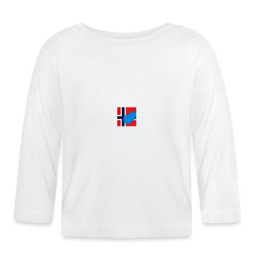 NorPot SAS ACE - Langarmet baby-T-skjorte
