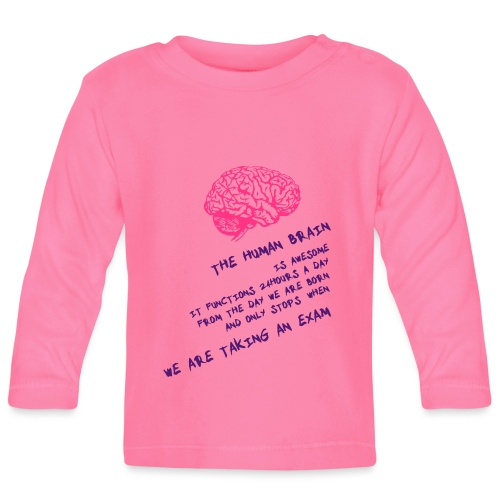 Human Brain - Maglietta a manica lunga per bambini