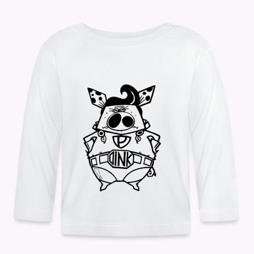super oink - Maglietta a manica lunga per bambini