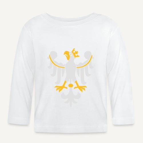 Orzeł Piastowski - Koszulka niemowlęca z długim rękawem