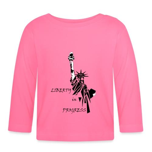 Liberty in progress - Koszulka niemowlęca z długim rękawem