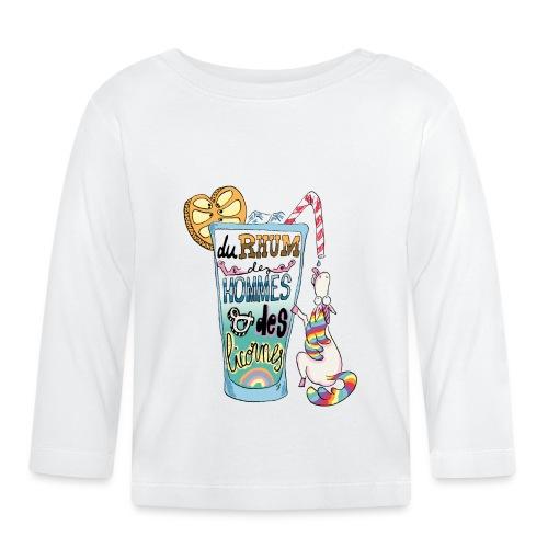 Du Rhum et des Licornes ! - T-shirt manches longues Bébé