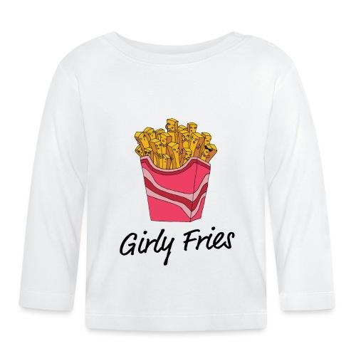 Girly Fries - Langærmet babyshirt