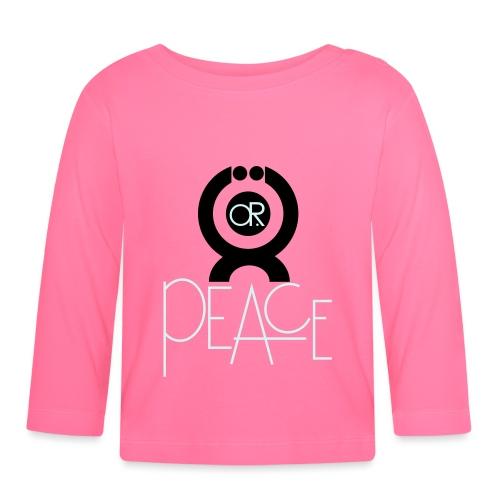 O.ne R.eligion O.R Peace - T-shirt manches longues Bébé