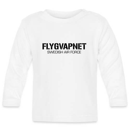 FLYGVAPNET - SWEDISH AIR FORCE - Långärmad T-shirt baby