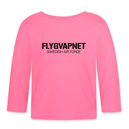 FLYGVAPNET - SWEDISH AIR FORCE - Långärmad T-shirt baby
