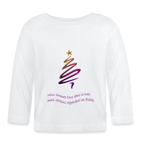 Citation étoile - T-shirt manches longues Bébé