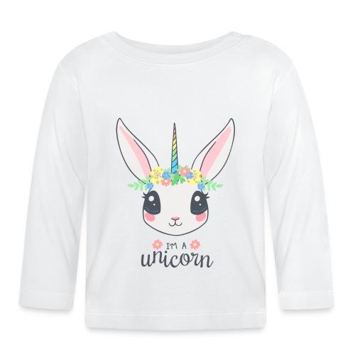 I am Unicorn - Baby Langarmshirt