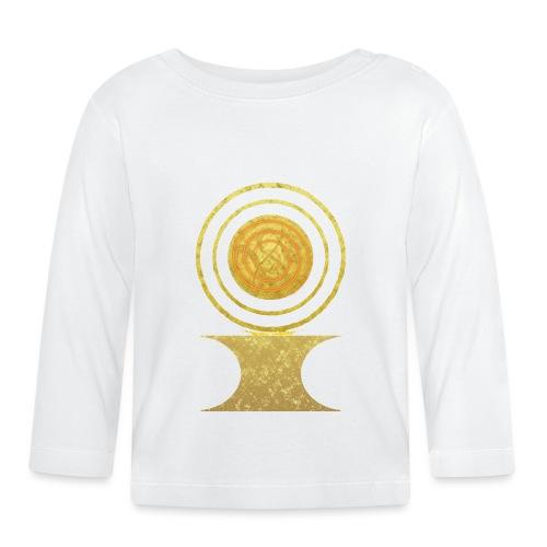 Native America Indianer Symbol Hopi ssl Sonne - Baby Langarmshirt