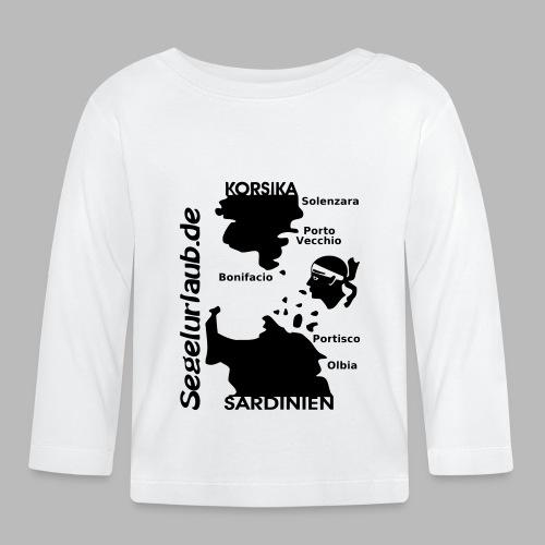 Korsika Sardinien Mori Shirt - Baby Langarmshirt