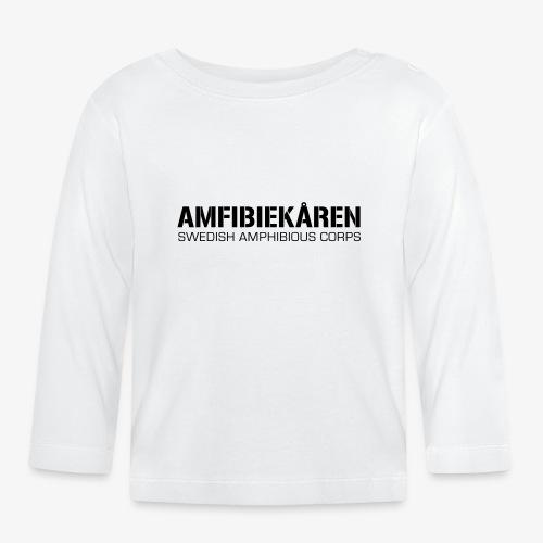 Amfibiekåren -Swedish Amphibious Corps - Långärmad T-shirt baby
