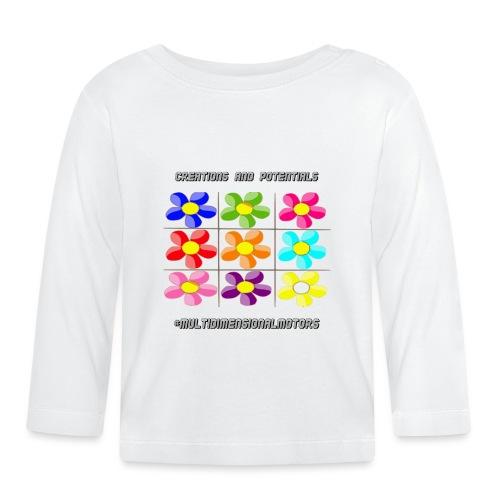 logo of my #MultiDimensionalMotors blog - Maglietta a manica lunga per bambini