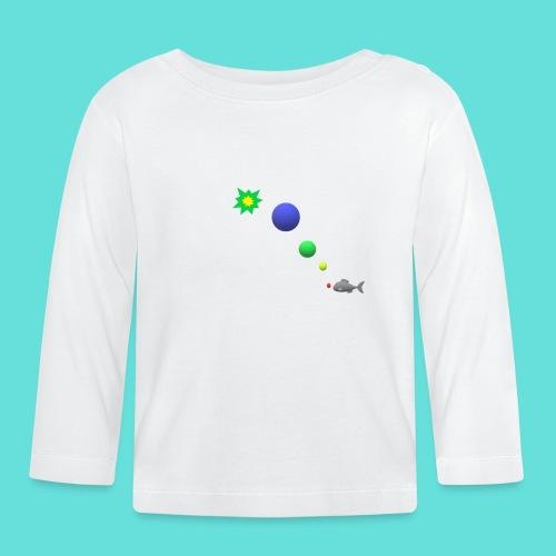 poisson bulle paf - T-shirt manches longues Bébé