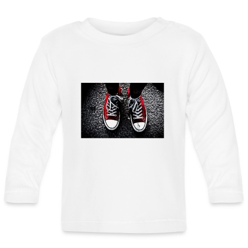 Sneakers - Långärmad T-shirt baby
