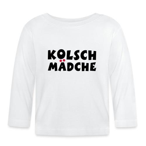 Kölsch Mädche - Ein Mädchen aus Köln - Baby Langarmshirt