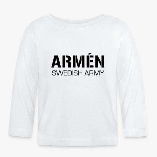 ARMÉN -Swedish Army - Långärmad T-shirt baby