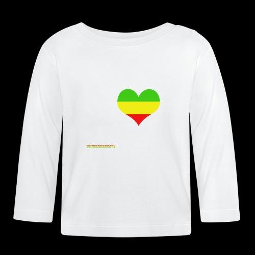 I LOVE Reggae - Baby Langarmshirt